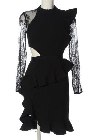 self - portrait Abendkleid schwarz Elegant