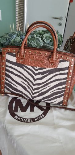 Michael Kors Handbag brown-oatmeal leather