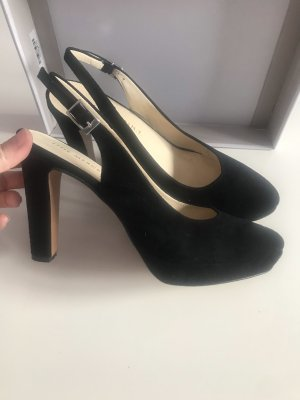 (The Mercer) NY Tacones de tiras negro