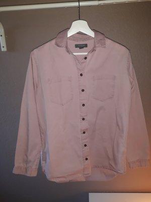 Selten getragenes rosa Hemd für Damen