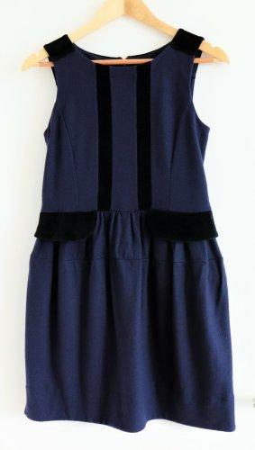 Marc by Marc Jacobs Woolen Dress black-dark blue wool