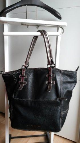 Selten! Liebeskind Tasche, Leder, Handtasche, Philippa, metallic