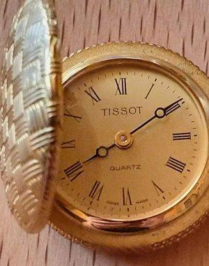 seltene antike Tissot Taschenuhr, Frackuhr, Savonette