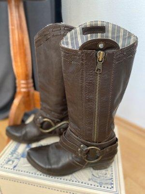 Seltene Diesel Cowboy Boots, braun