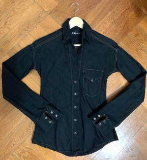 Levi's Blouse en jean bleu foncé coton