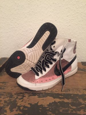 Nike High top sneaker veelkleurig Leer
