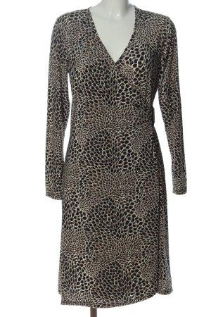 Sem per lei Langarmkleid abstraktes Muster Street-Fashion-Look