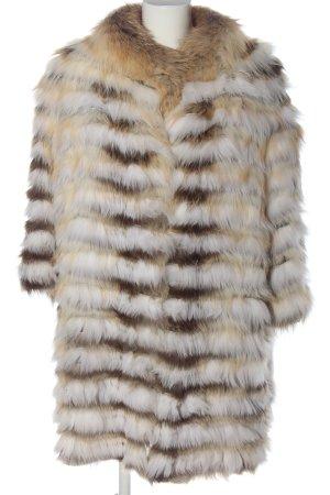 Sem per lei Pelt Coat striped pattern casual look