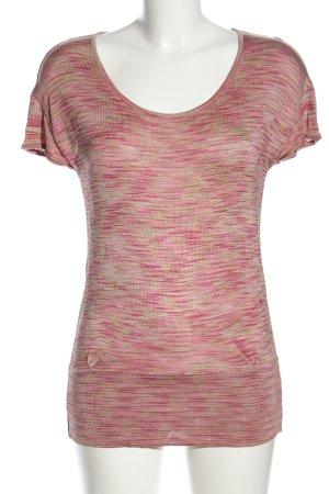Sem per lei T-Shirt pink-creme meliert Casual-Look