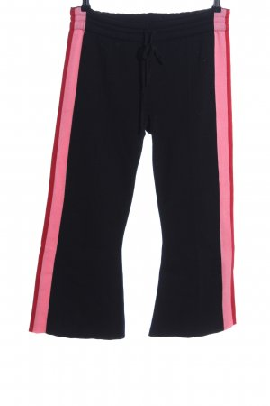 Semicouture Baggy Pants Streifenmuster Casual-Look