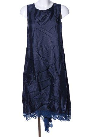 Semicouture Maxikleid blau Elegant