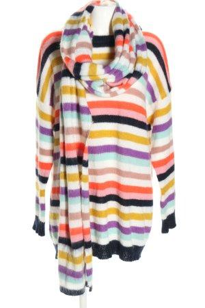 Semicouture Ensemble en tricot motif rayé style décontracté