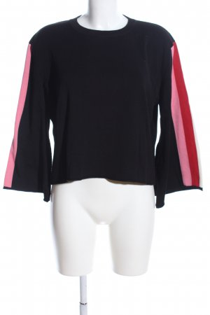 Semicouture Strickpullover Streifenmuster Casual-Look