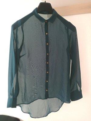 semitransparente Bluse Größe 36