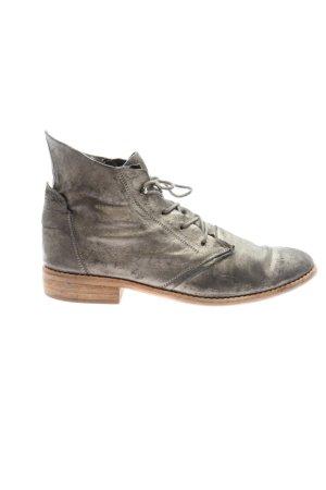 Semler Ankle Boots schwarz meliert Casual-Look