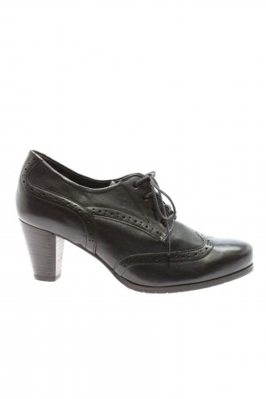 Semler Hochfront-Pumps schwarz Business-Look