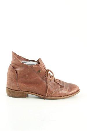 Semler Botte courte brun style décontracté