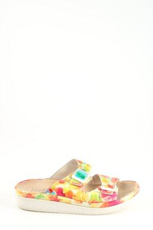 Semler Pantoffeln abstraktes Muster Casual-Look