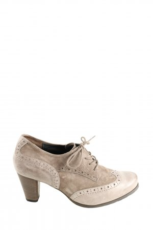 Semler Hochfront-Pumps creme Casual-Look