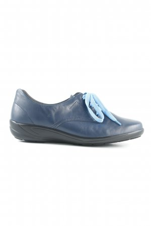 Semler Schnürschuhe dunkelblau klassischer Stil