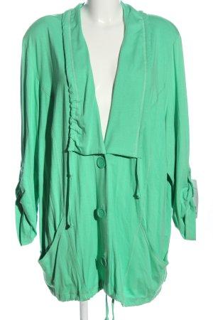 Sempre Piu Giacca-camicia turchese stile casual