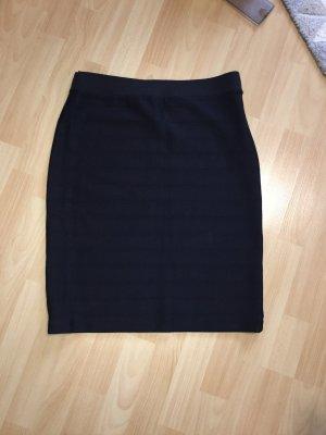 SEMPRE Spódnica ze stretchu czarny