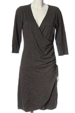SEMPRE Kopertowa sukienka jasnoszary Melanżowy W stylu casual