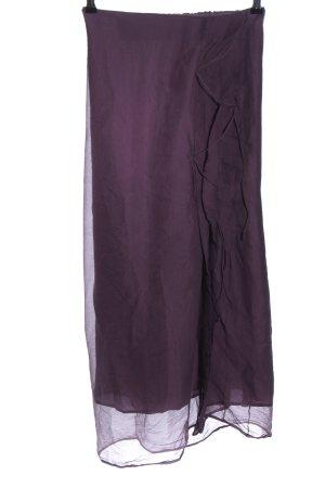 senas Silk Skirt brown elegant