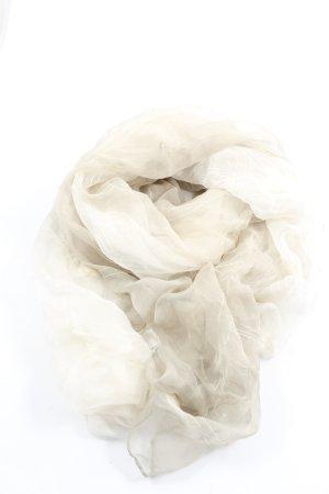 senas Écharpe en soie blanc cassé style d'affaires