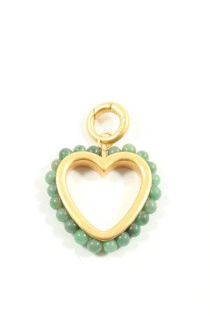 Sence Charms złoto-zielony W stylu casual