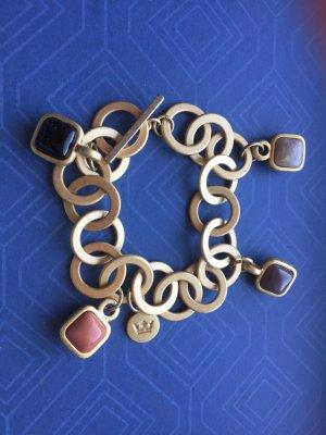 Sence copenhagen Armband hochwertiger Modeschmuck mattgold mit 4 Schmucksteinen