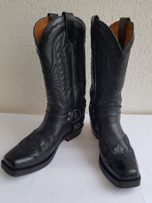 Sendra Bikerstiefel Boots Cowboystiefel 4890 Gr. 8,5 / 42 schwarz