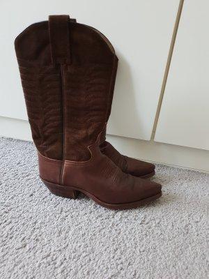 Sendra Botas estilo vaquero marrón Cuero
