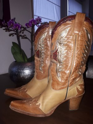 Sendra Boots western multicolore cuir
