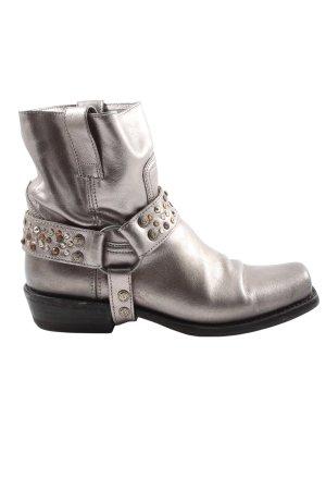 Sendra Stivaletto western grigio chiaro stile casual