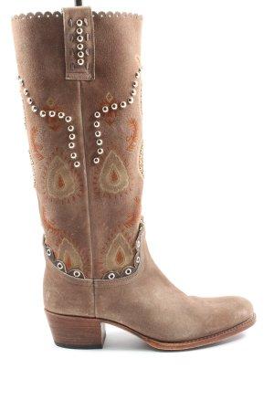Sendra Buty w stylu western Na całej powierzchni W stylu casual