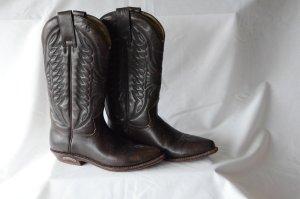 Sendra Boots western brun foncé cuir