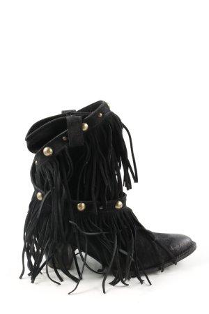 Sendra Western Laarzen zwart casual uitstraling