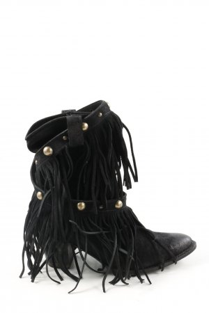 Sendra Boots western noir cuir