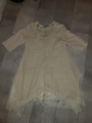 Senes Camicia a tunica crema