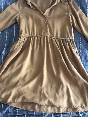 Senf gelbes Kleid S kurz