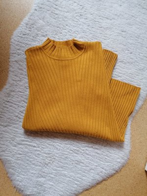 H&M Turtleneck Shirt gold orange