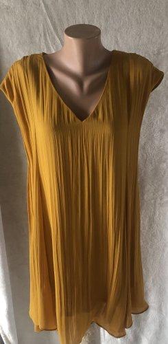 Senffarbenes Kleid H&M Gr. 38
