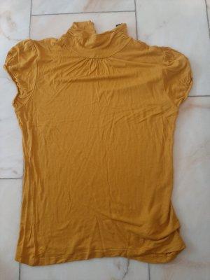 H&M Turtleneck Shirt gold orange-light orange