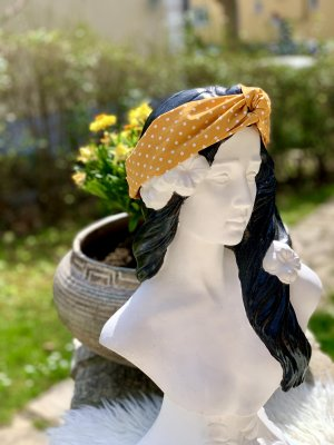 Senfgelb Bandeau/Haarband *handmade*