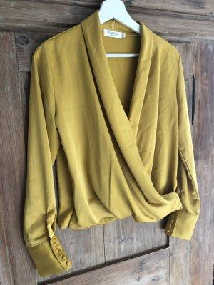 Elenza Blusa brillante amarillo oscuro Poliéster