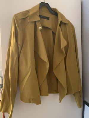 Senfgelbe Jacke von Zara