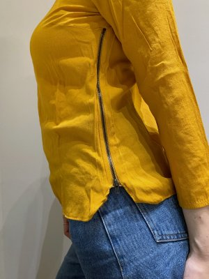 Senfgelbe Zara Bluse\Shirt