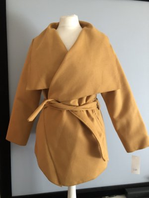 Wraparound Jacket gold orange