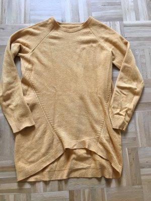 0039 Italy Pull tricoté brun sable-jaune